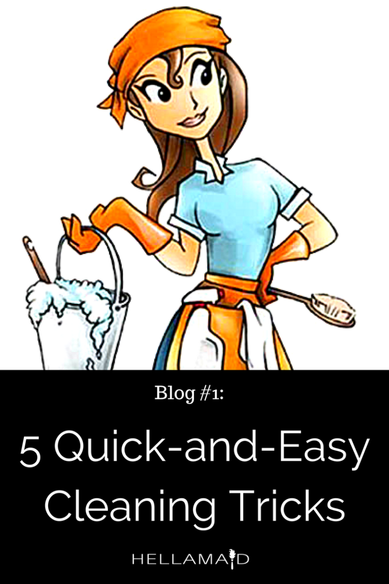 5 Quick-and-Easy Tips for a Clean Home