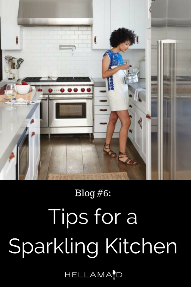 4 tips for a sparkling kitchen