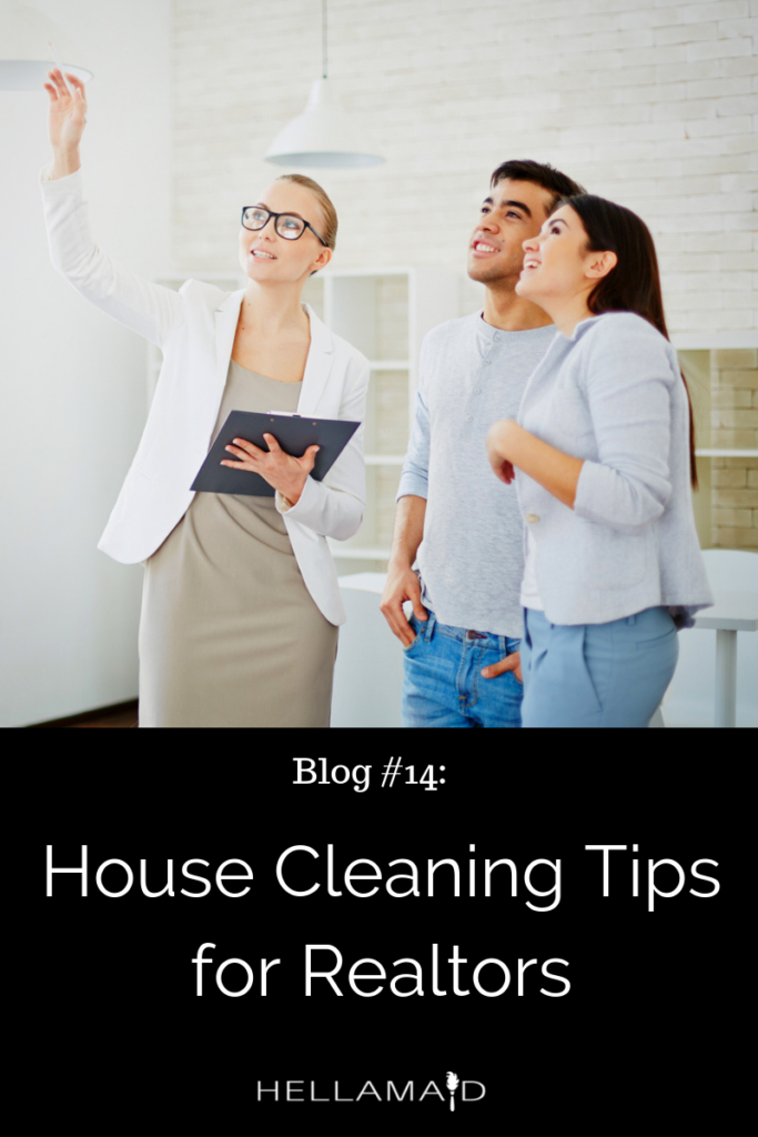 House Cleaning Tips for Realtors