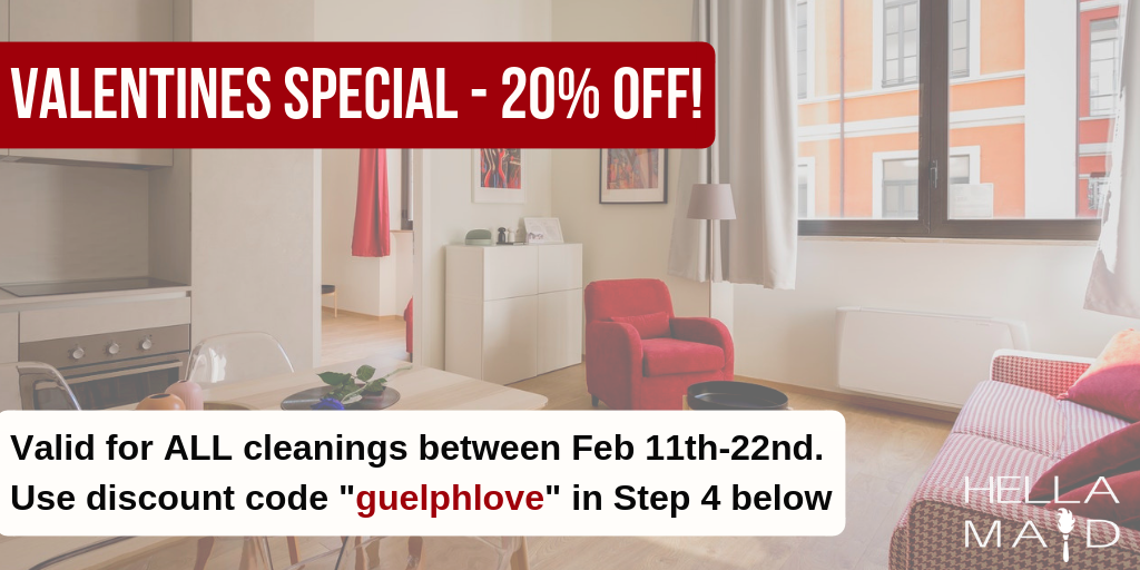 Valentines Cleaning Sale