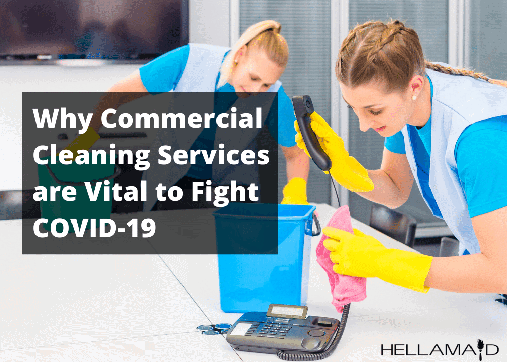 Commercial Cleaning vital to fight covid-19