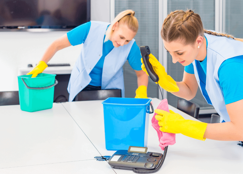 commercial cleaning for offices and businesses