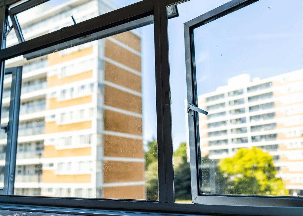 open windows for circulation