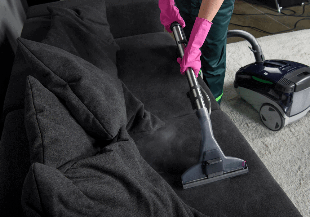 hellamaid offers upholstery cleaning services