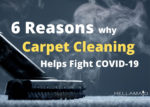 carpet cleaning helps fight COVID19