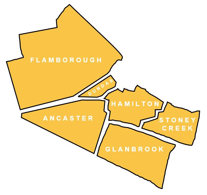 hamilton cleaning service map