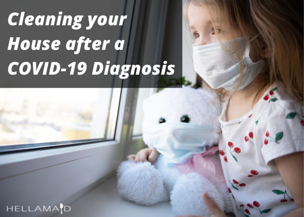 house cleaning after covid-19 diagnosis