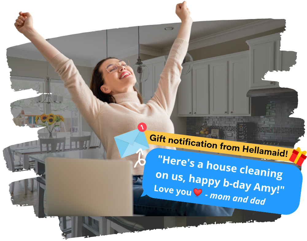 House Cleaning Gift Card Hellamaid