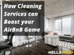 AirBnB cleaning services hellamaid