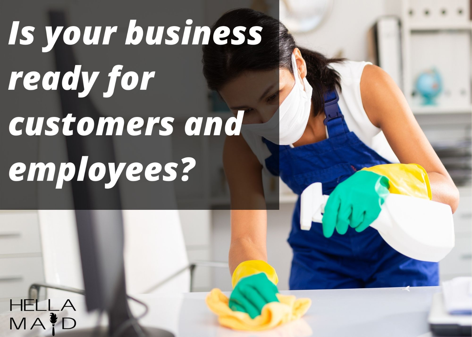 office and business cleaning hellamaid