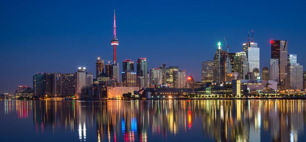 city of Toronto in Ontario, Canada