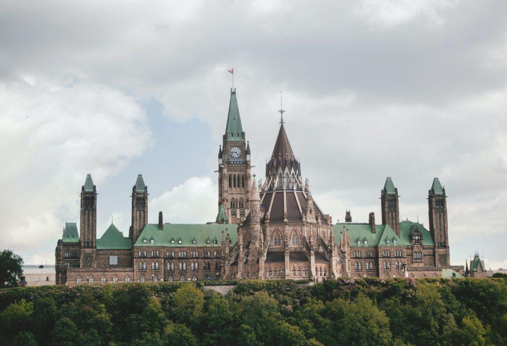 Ontario Parliament Hill in Ottawa