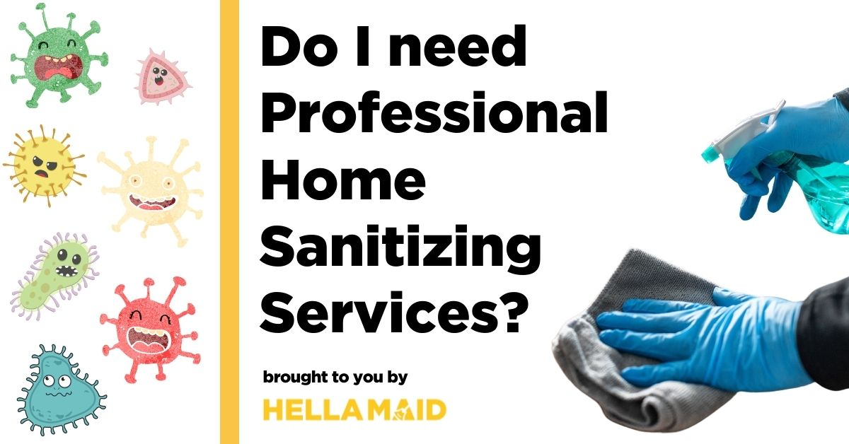 do I need professional home sanitizing services
