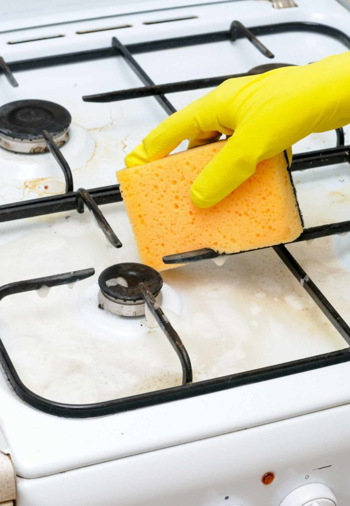 how to clean stovetop burner rings by hellamaid